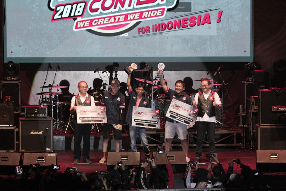 Juara Honda Modification Contest 2018