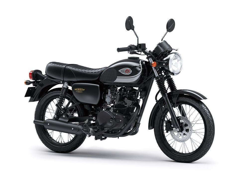 Kawasaki W175 SE new Stripe Black 2019