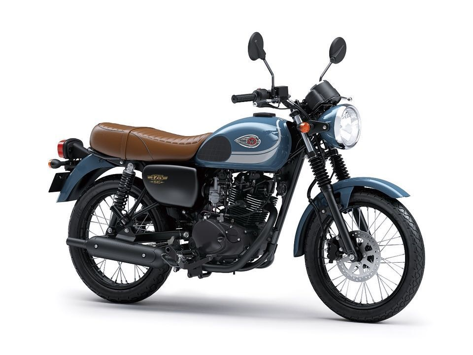 Kawasaki W175 SE storm cloud blue