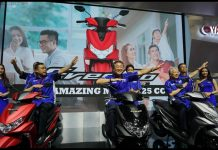 Launching Yamaha FreeGO