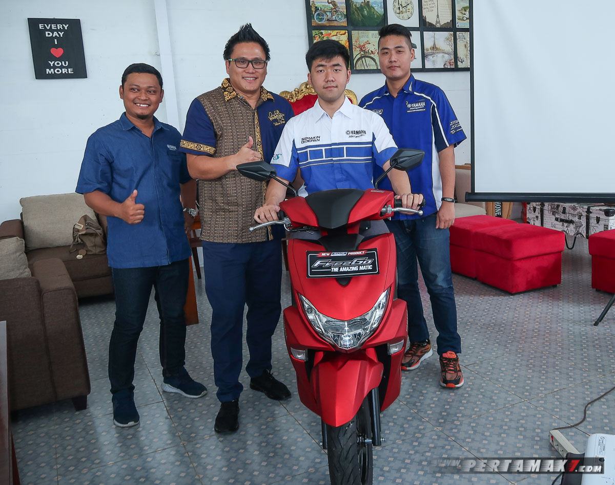 Launching Yamaha FreeGO Jogja P7