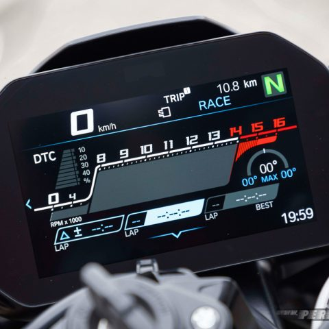 Meter Race Mode BMW S1000RR MY 2019 006 P7