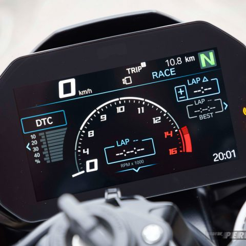 Speedometer Race Mode BMW S1000RR MY 2019 007 P7