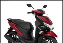 Yamaha FreeGo Metallic Red