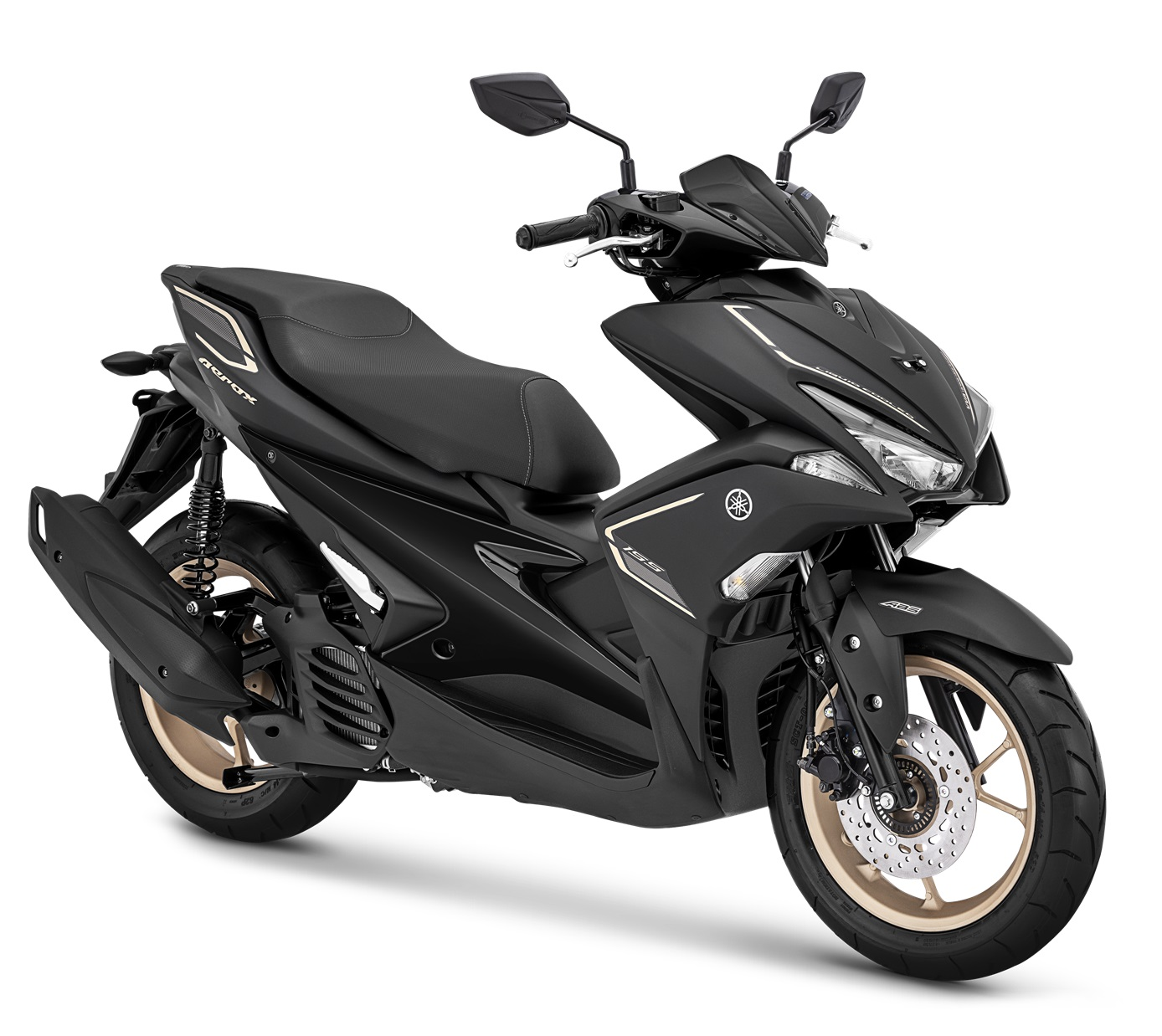 2019 Yamaha Aerox 155 VVA S-Version Matte Black
