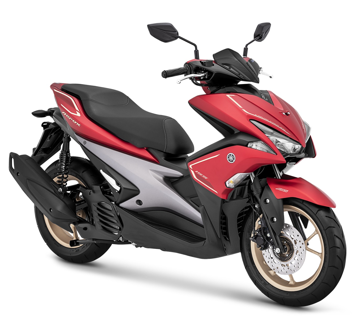 2019 Yamaha Aerox 155 VVA S-Version Matte Red