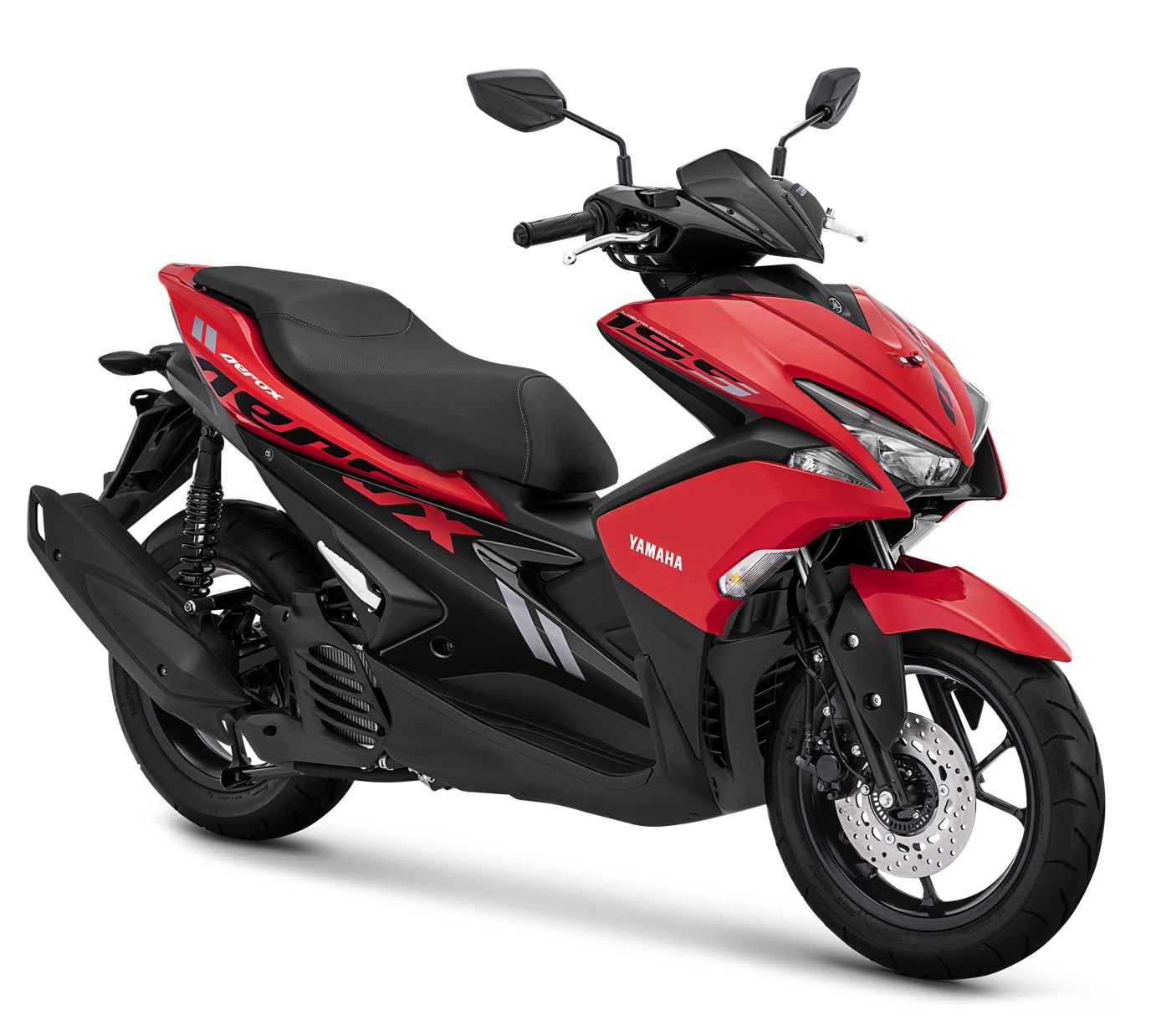 2019 Yamaha Aerox 155 VVA STD Warna Merah red