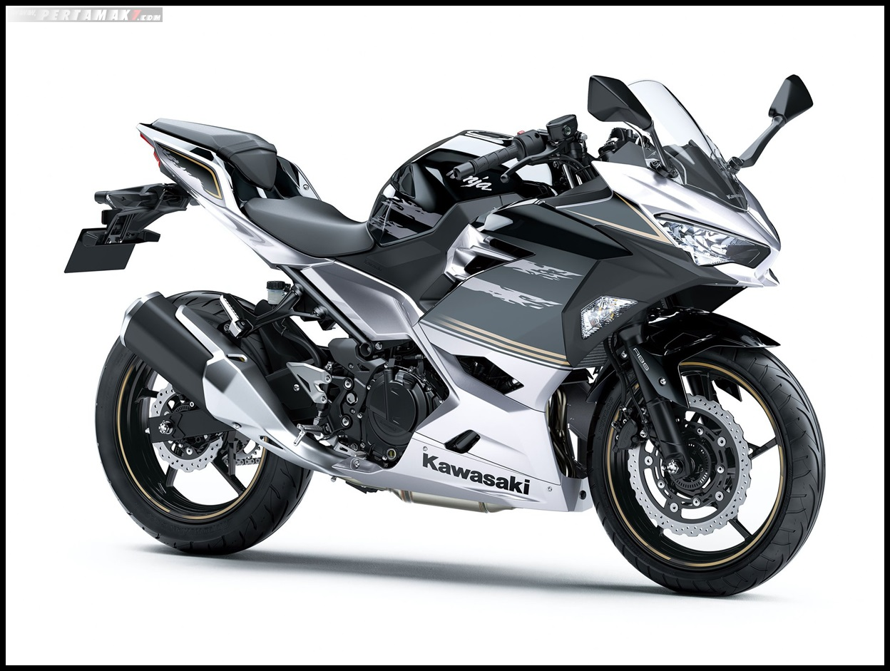 2019 kawasaki Ninja 250 F Metallic Phantom Silver × Metallic Spark Black