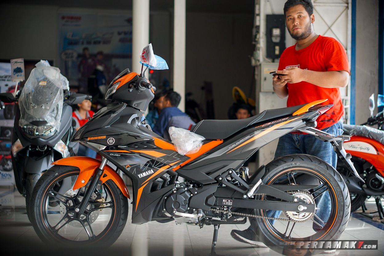 Bertemu Yamaha MX KING Facelift 2019