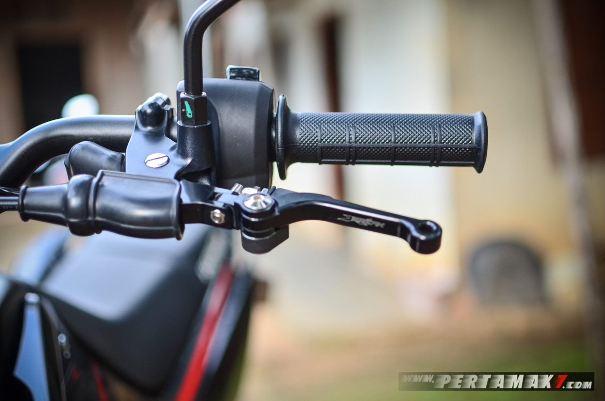 Break Clutch Lever Honda CRF150L Hitam Supermoto