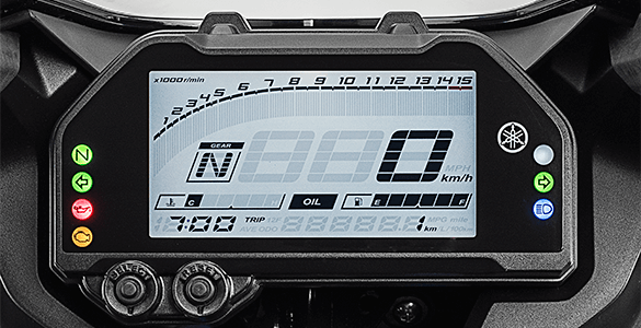 Digital Meter Yamaha R25 ABS Facelift 2019
