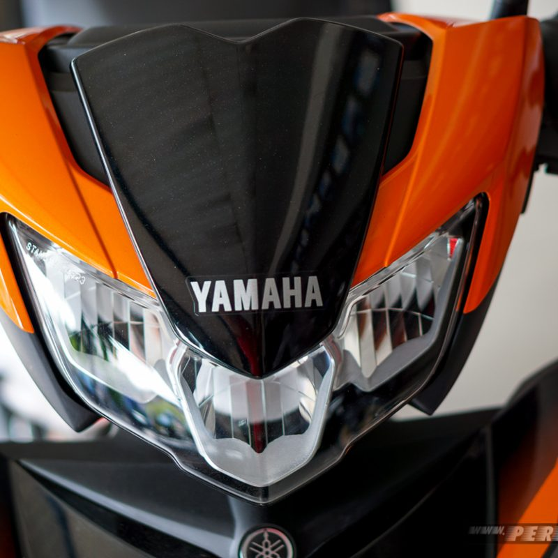 Headlamp Yamaha MX KING atas