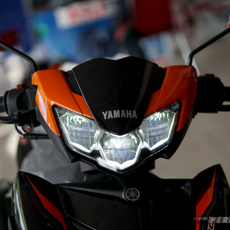 Lampu Jauh Nyala Headlamp Led Yamaha MX King 2019