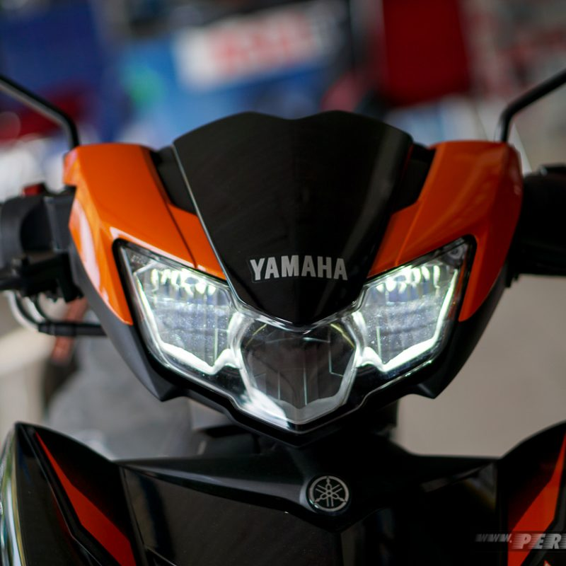 Lampu dekat Nyala Headlamp Led Yamaha MX King 2019