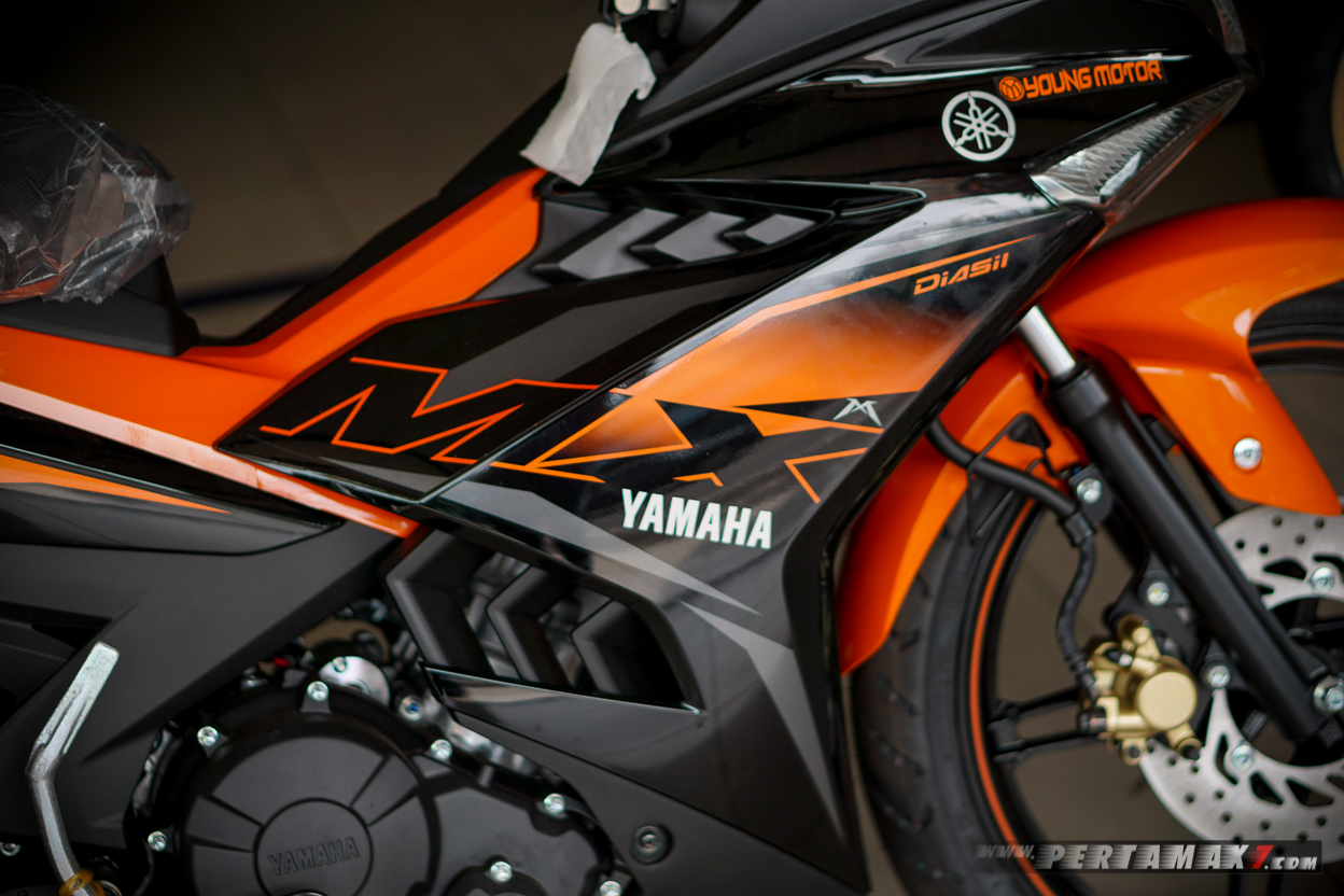 Logo Yamaha MX KING 2019