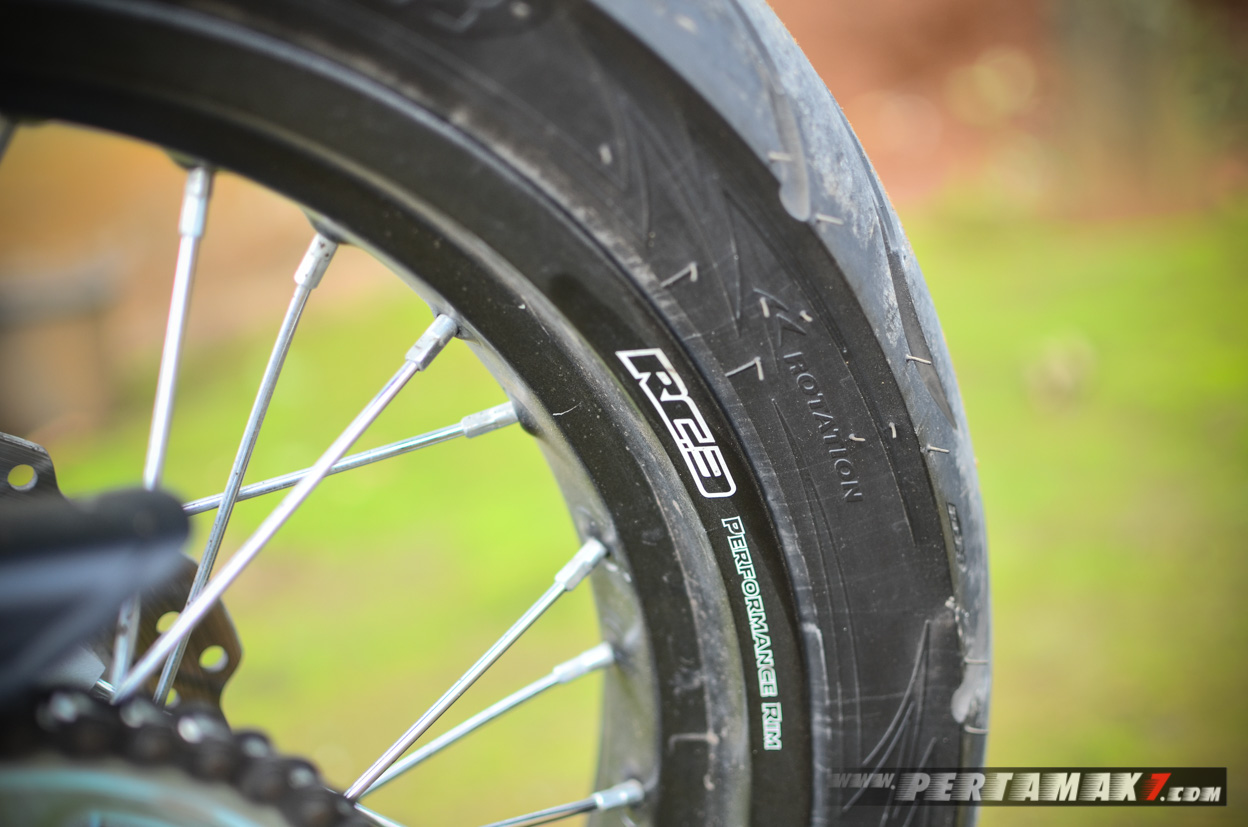 RC3 Performance RIM Honda CRF150L Hitam Supermoto