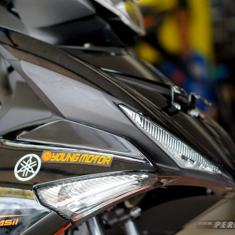 Sein dan DRL Yamaha MX KING Facelift 2019