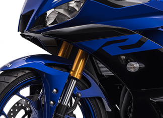 Upside Down Yamaha R25 ABS Facelift 2019