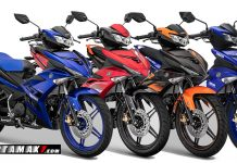 Warna Yamaha Jupiter MX King 150 Facelift 2019