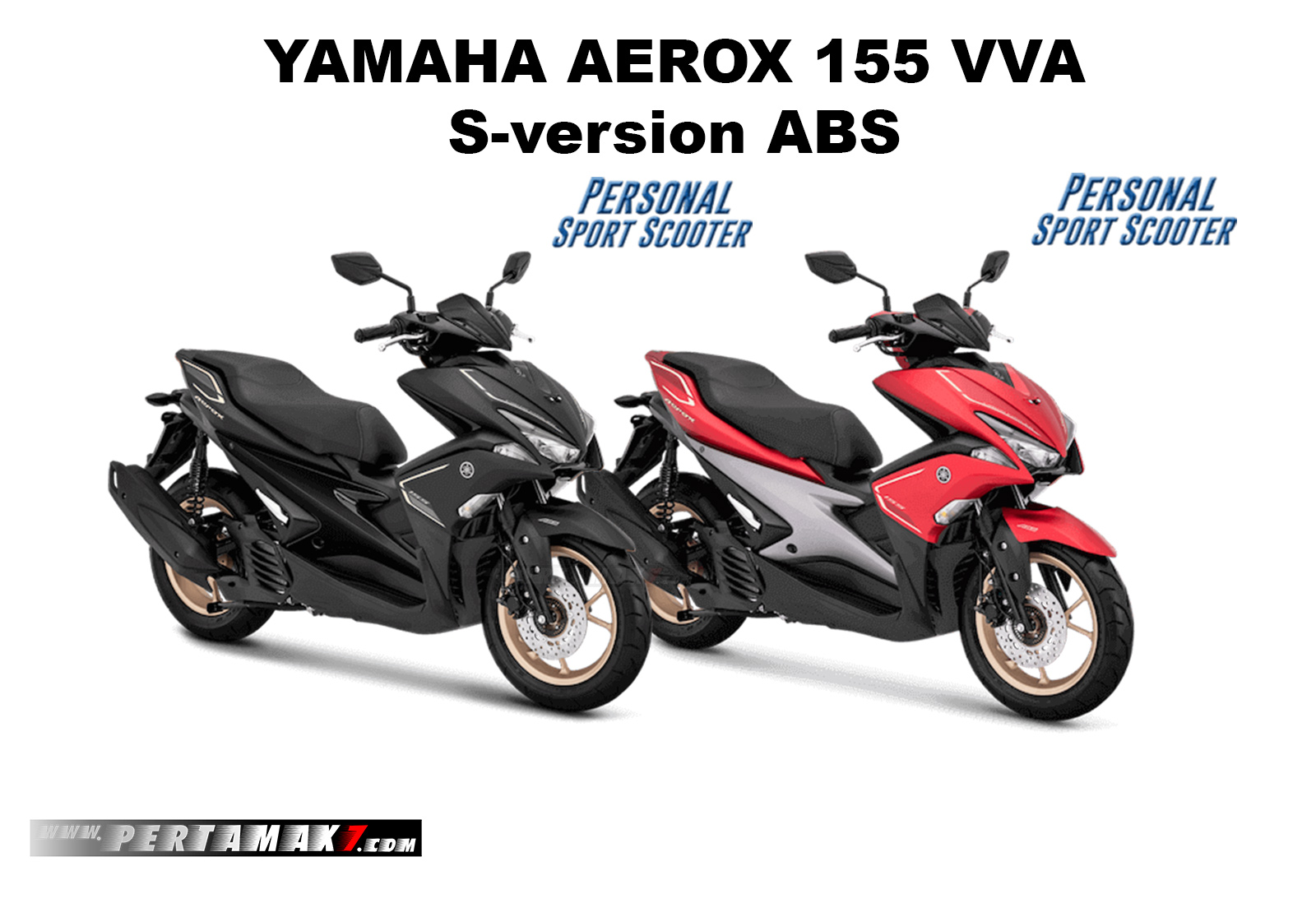 Yamaha Aerox 155 VVA S Version