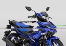 Yamaha Jupiter MX King 2019 Biru
