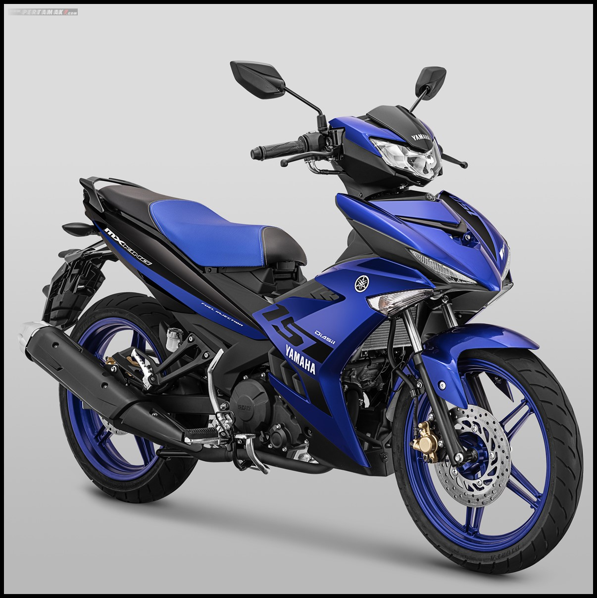 Yamaha MX KING 2019 Warna Biru P7