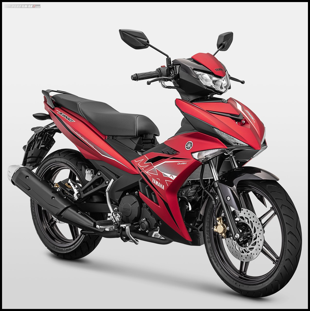 Yamaha MX KING 2019 Warna Merah P7