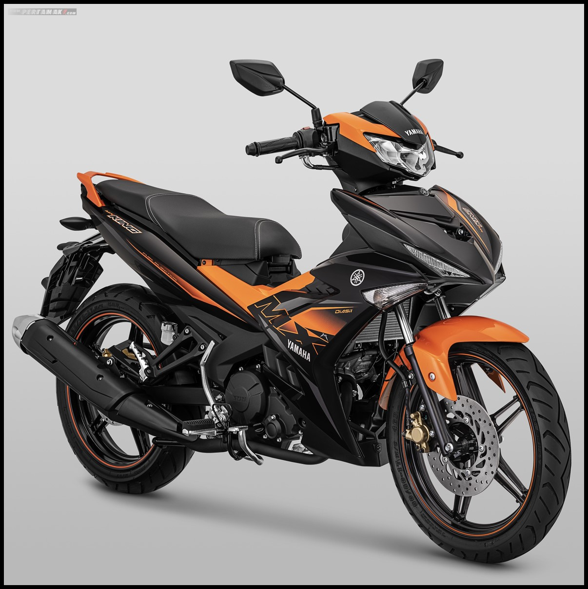 Yamaha MX KING 2019 Warna Oranye P7