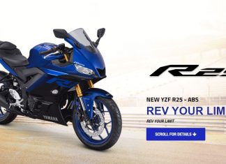 Yamaha R25 ABS Facelift 2019