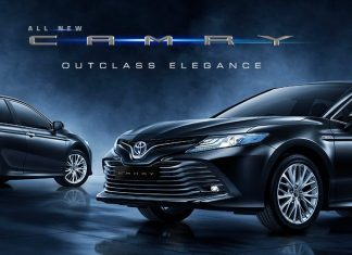 All New Toyota Camry Hybrid Indonesia