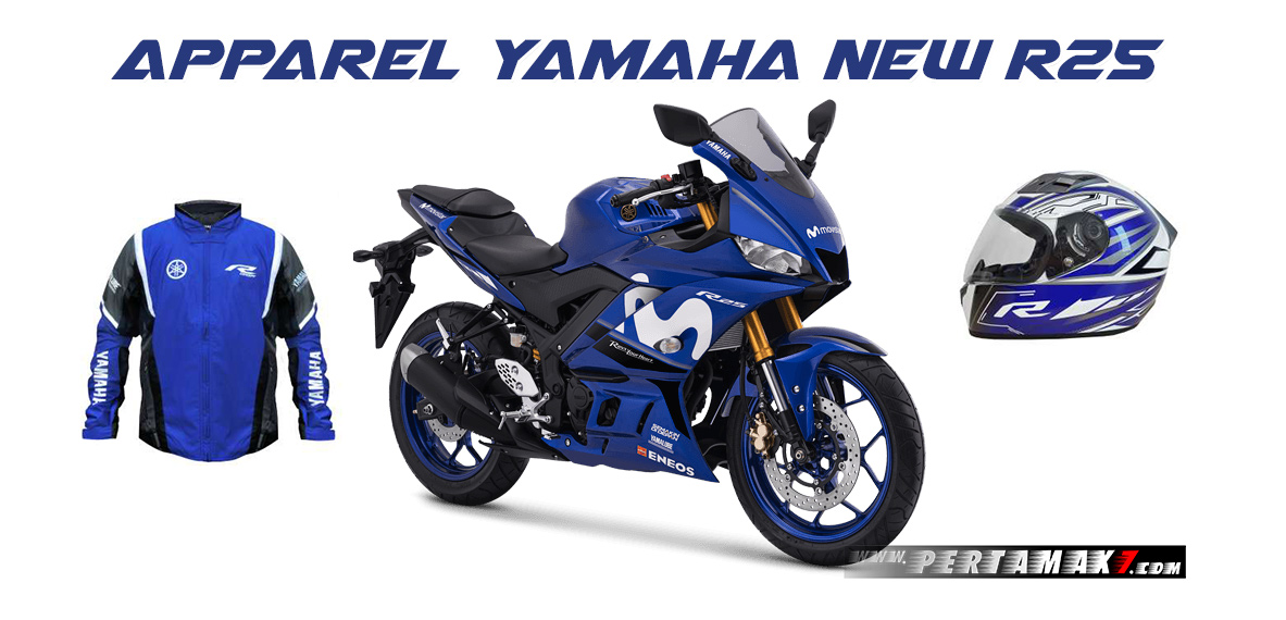 Apparel Yamaha New R25 MY 2019