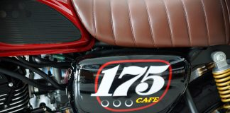 Box kiri Kawasaki W175 Cafe