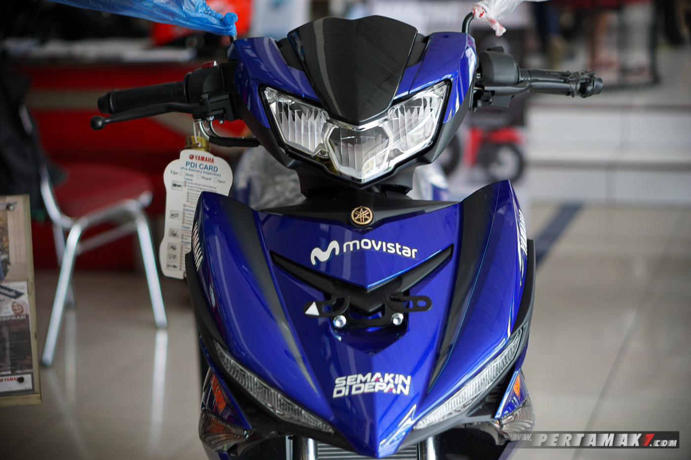 Closed Up Yamaha MX KING MotoGP Movistar 2019