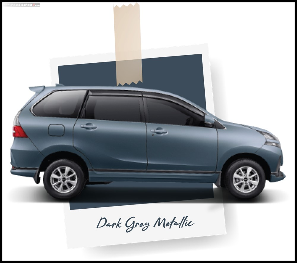 Daihatsu Grand New Xenia Dark Grey Metallic