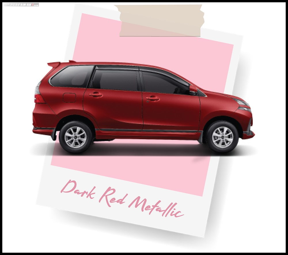 Daihatsu Grand New Xenia Merah Dark Red Metallic