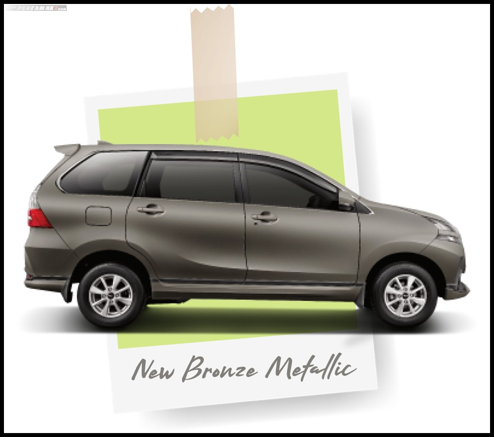 Daihatsu Grand New Xenia New Bronze Metallic