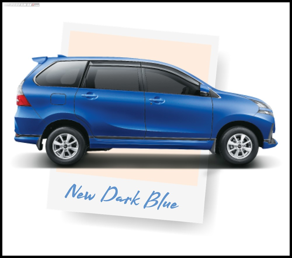 Daihatsu Grand New Xenia Warna Biru New Dark Blue