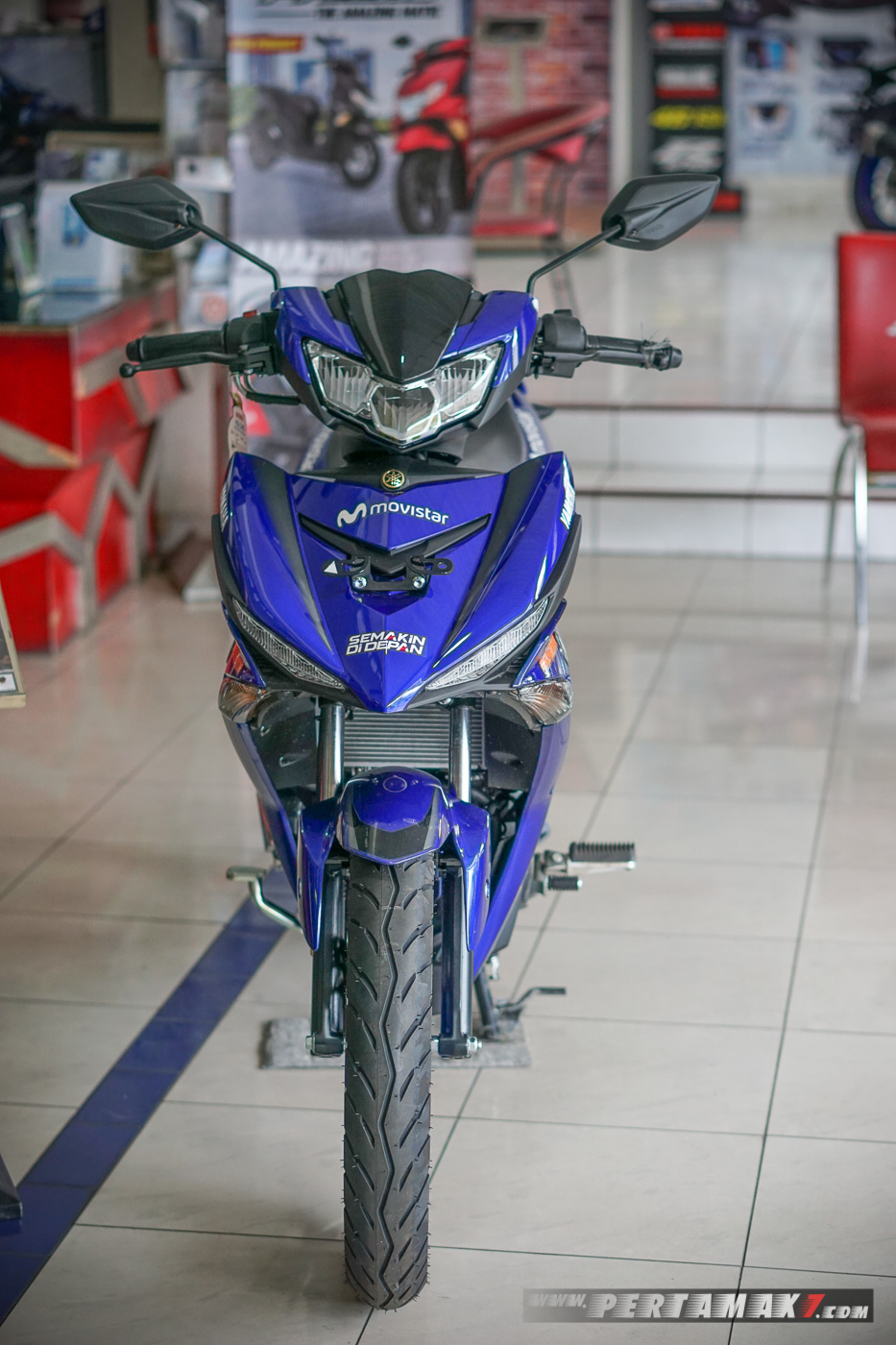 Depan Yamaha New MX KING Movistar 2019