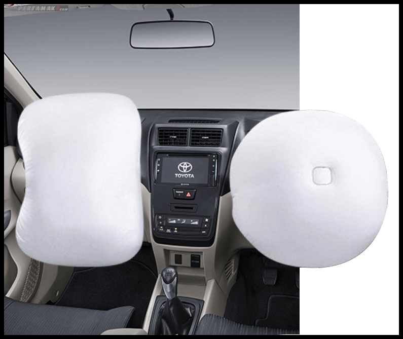 Fitur Toyota New Avanza Tipe E SRS Air bags