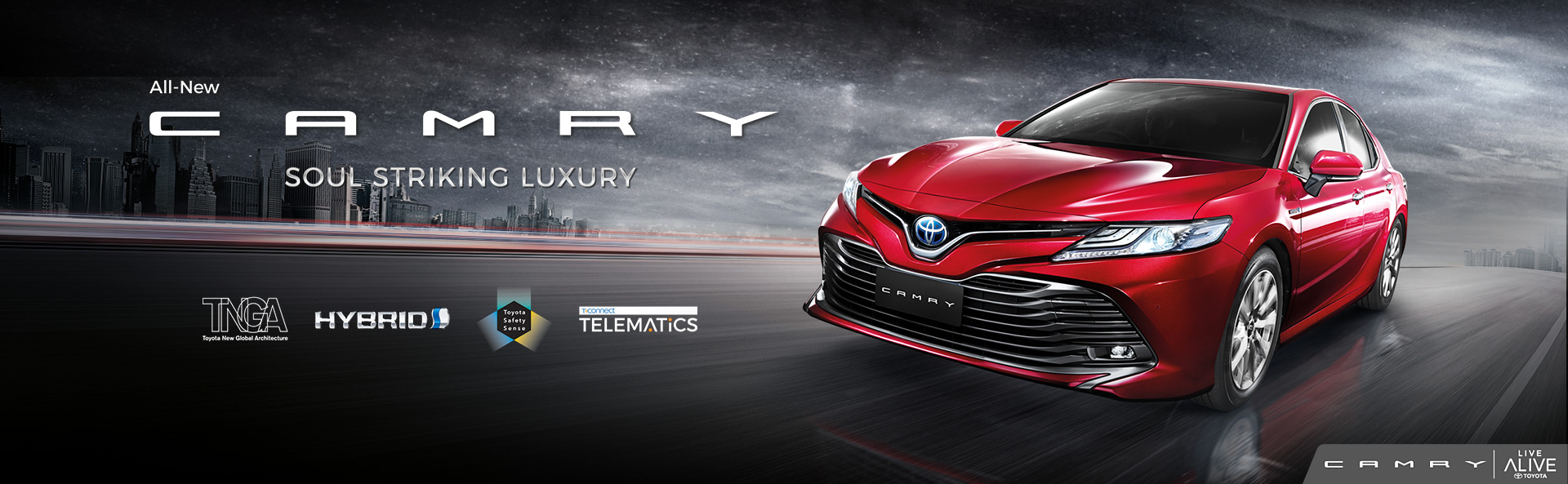 Harga Toyota All new Camry Indonesia