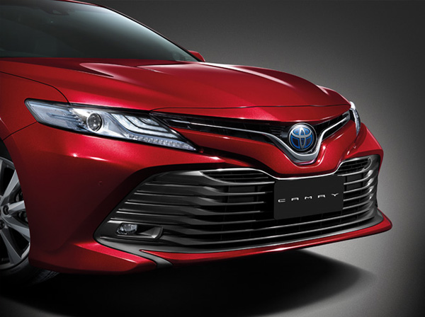 Headlamp Toyota All new Camry Indonesia
