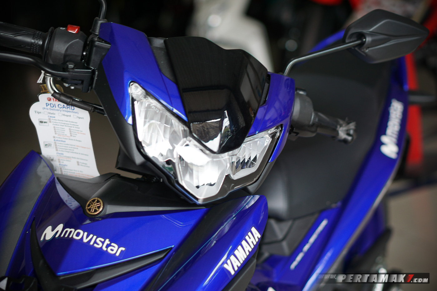Headlight LED Yamaha MX KING MotoGP Movistar 2019