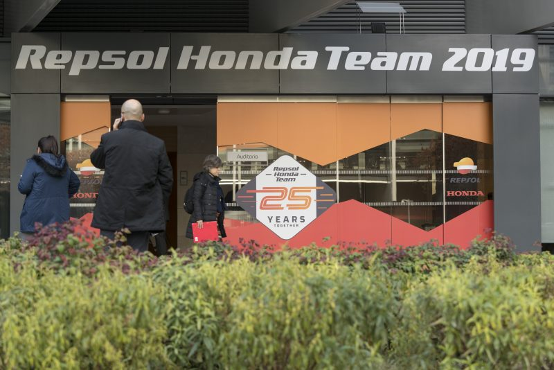 Headquarter Repsol Honda Team MotoGP 2019