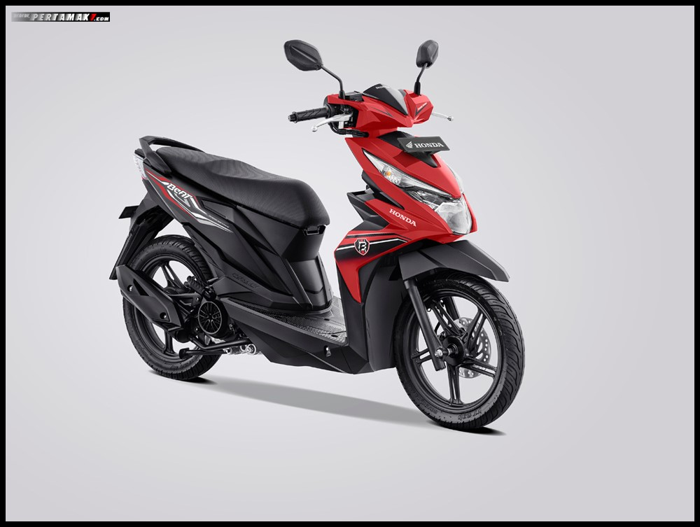 Honda Beat Variant Red 2019