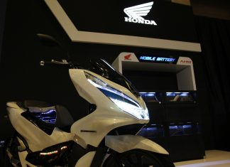 Honda PCX Electric Indonesia
