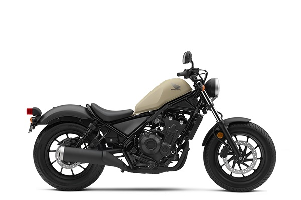 Honda Rebel 500 Versi 2019 Warna Krem MATTE GRAY METALLIC