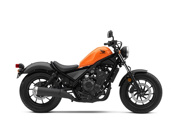 Honda Rebel 500 Versi 2019 Warna Oranye CANDY ORANGE