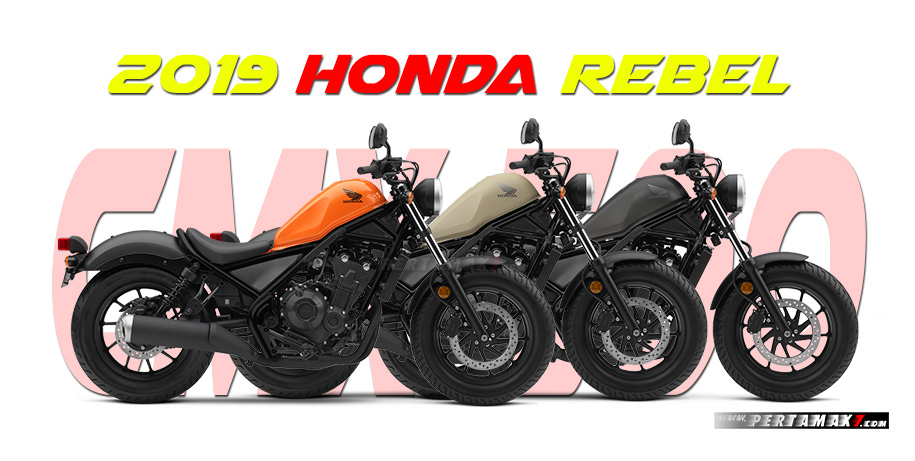 Honda Rebel 500 Versi 2019