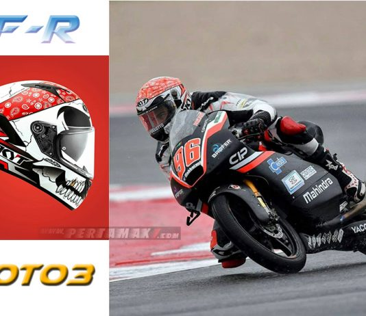 KYT NFR MOTO3 Livery