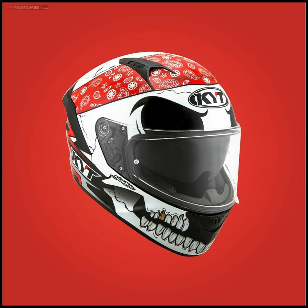 KYT NFR Pirate Double Visor